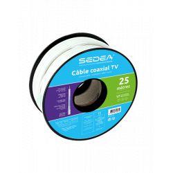 Câble coaxial 17 VAtCA triple blindage - 25ml- 032075