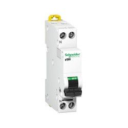 DT40 1P+N 16A COURBE C - A9N21025 - SCHNEIDER ELECTRIC