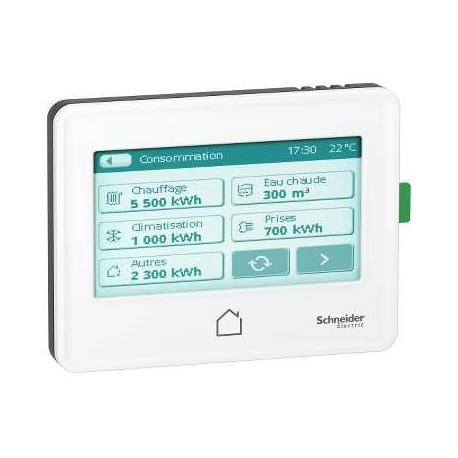 AFFICHEUR TACTILE WISER DISPLAY - EER22000 - SCHNEIDER ELECTRIC