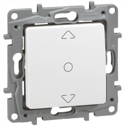 Interrupteur de volets roulants Niloe - 3 positions - Pur - 664711