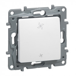 Interrupteur de VMC Niloe - 2 positions - Pur - 664791