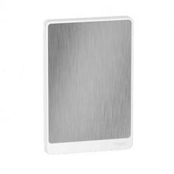 Resi9 - porte touch aluminium coffret 13M - 2R - R9H13422A