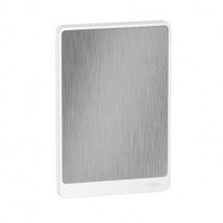 Resi9 - porte touch aluminium coffret 13M - 3R - R9H13423A