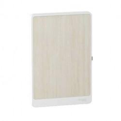 Resi9 - porte touch bois nordique coffret 13M - 1R - R9H13421B