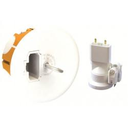 Kit DCL BBC point de centre diamètre 67mm + fiche + douille E27