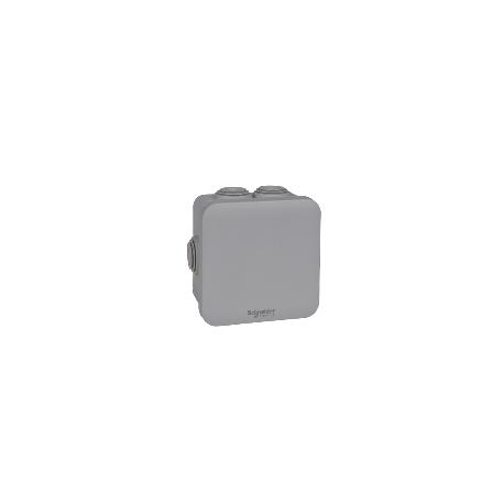 SCHNEIDER ENN05004 - Boite de dérivation à embouts 80x80x45, gris