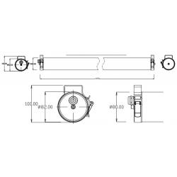 ETANCHE TUBULAIRE LED IP67  - TUBILED 40W
