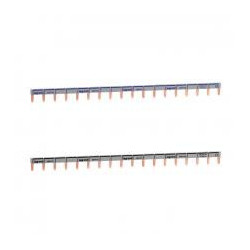 Peigne d'alimentation HX3 - 1P - Universel PH+N - Long 18 modules- 404928 - LEGRAND