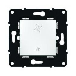 Interrupteur 2 positions pour commande VMC ESPACE EVOLUTION BLANC - 64023