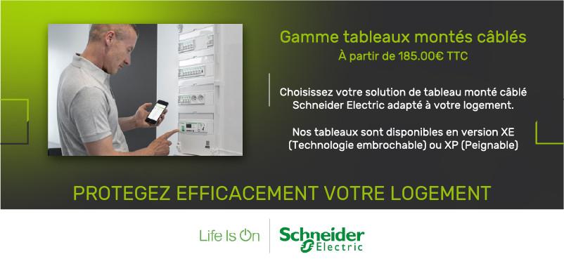 Tableaux Schneider Electric